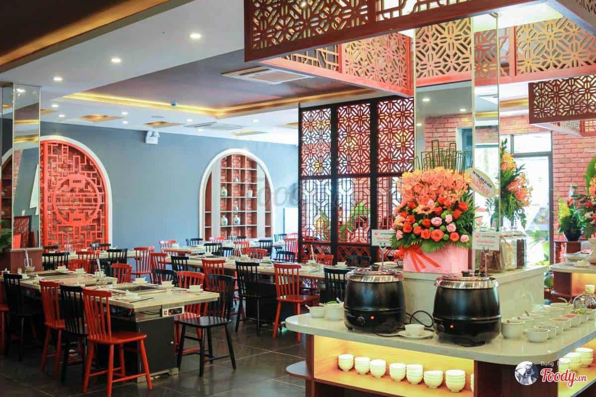 buffet lẩu & Dimsum Hồng Kông Liu Chu Fang