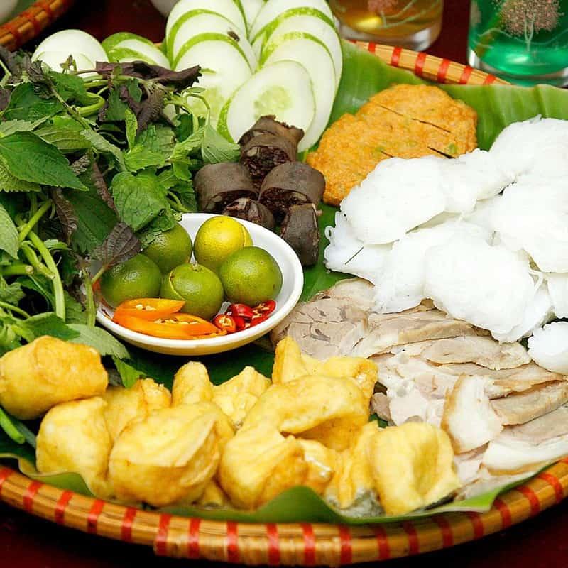 Bún đậu mắm tôm Đà Nẵng