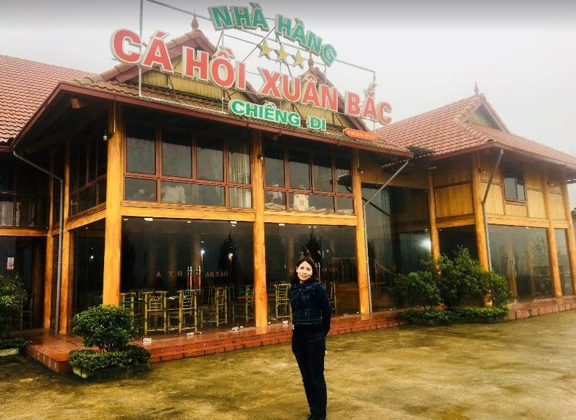 Nhà hàng cá hồi ngon ở Mộc Châu