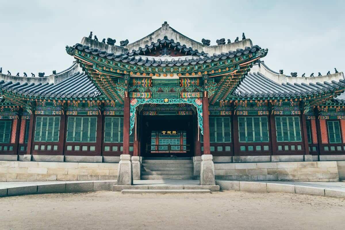 địa điểm Cung điện Changdeokgungdu lịch ở Hàn Quốc