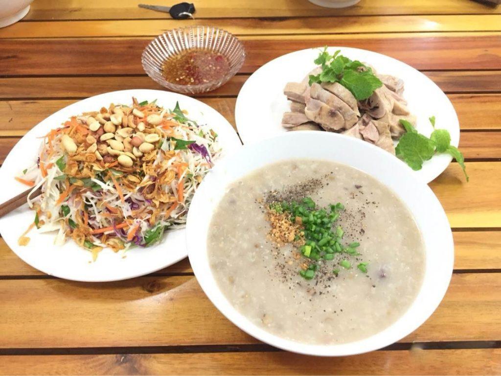 cháo vịt Đà Nẵng