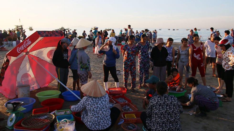 kinh nghiệm đi chợ hải sản tại đà nẵng