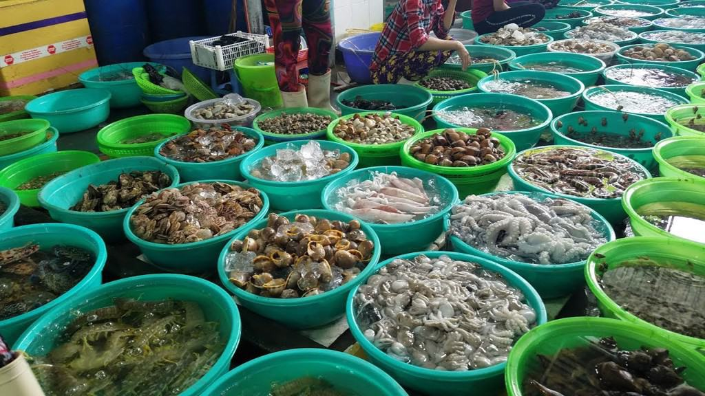 chợ hải sản thanh khê đà nẵng