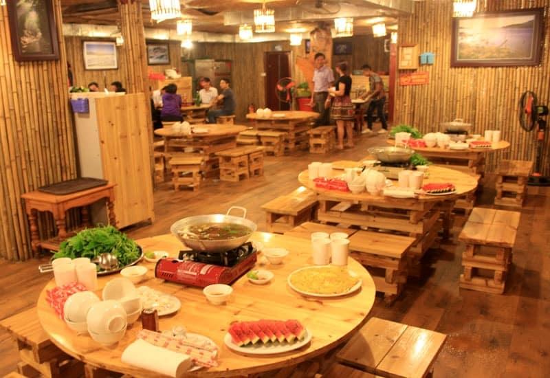 nhà hàng Khám Phá Việt Sapa