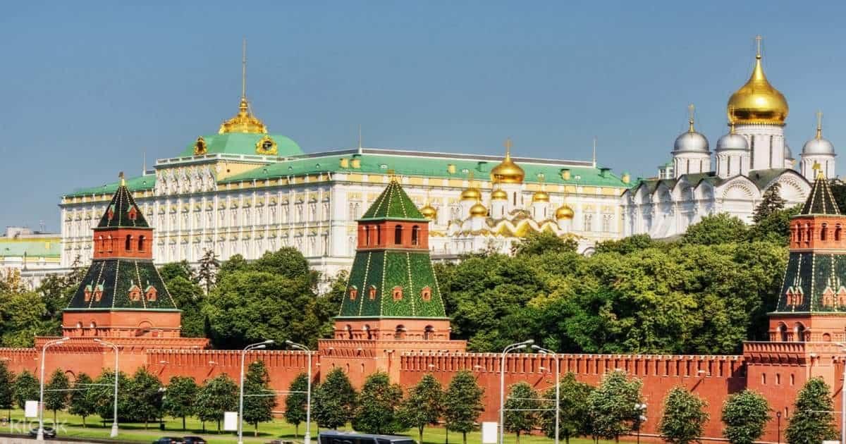 Điện Kremlin ở đâu