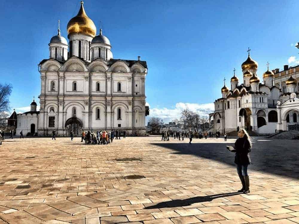 cung điện kremlin moscow
