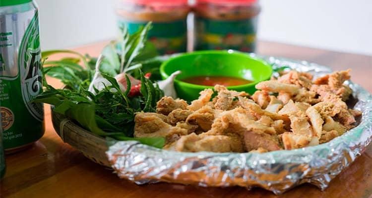 Thịt lợn muối chua Mai Châu