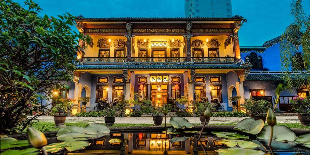 Nhà cổ Blue Mansion