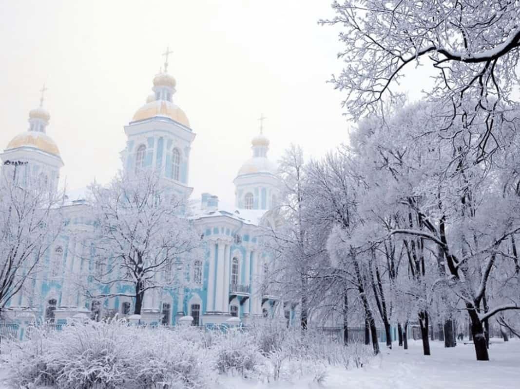 đi du lịch nga vào mùa đông