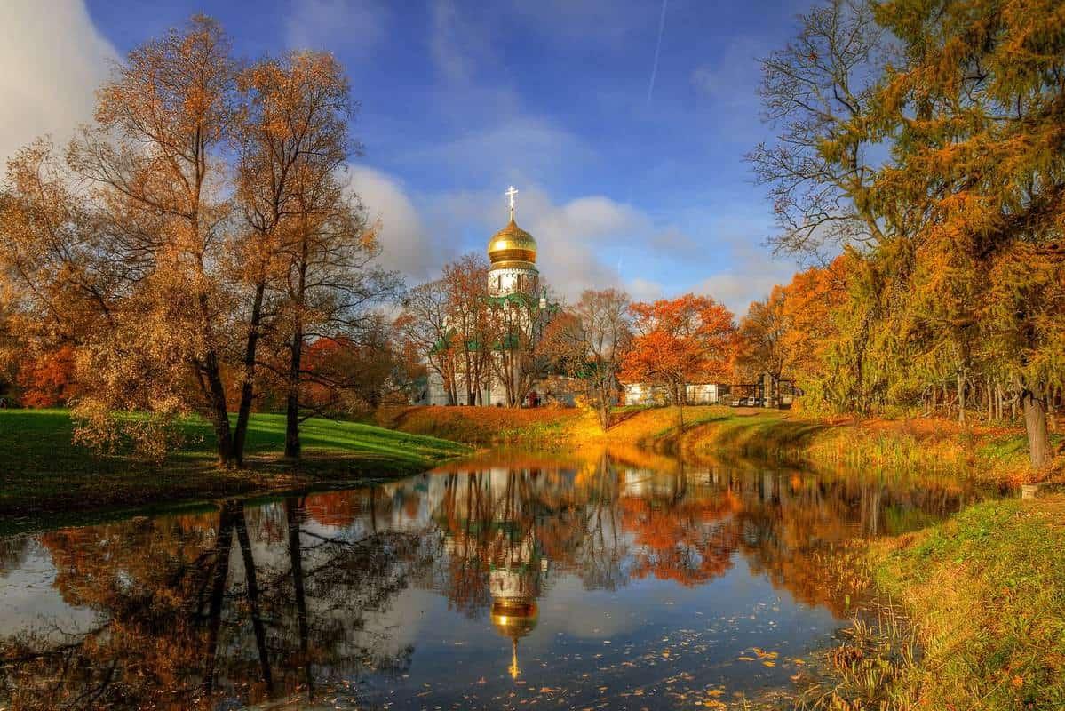 Du lịch Nga mùa thu vàng