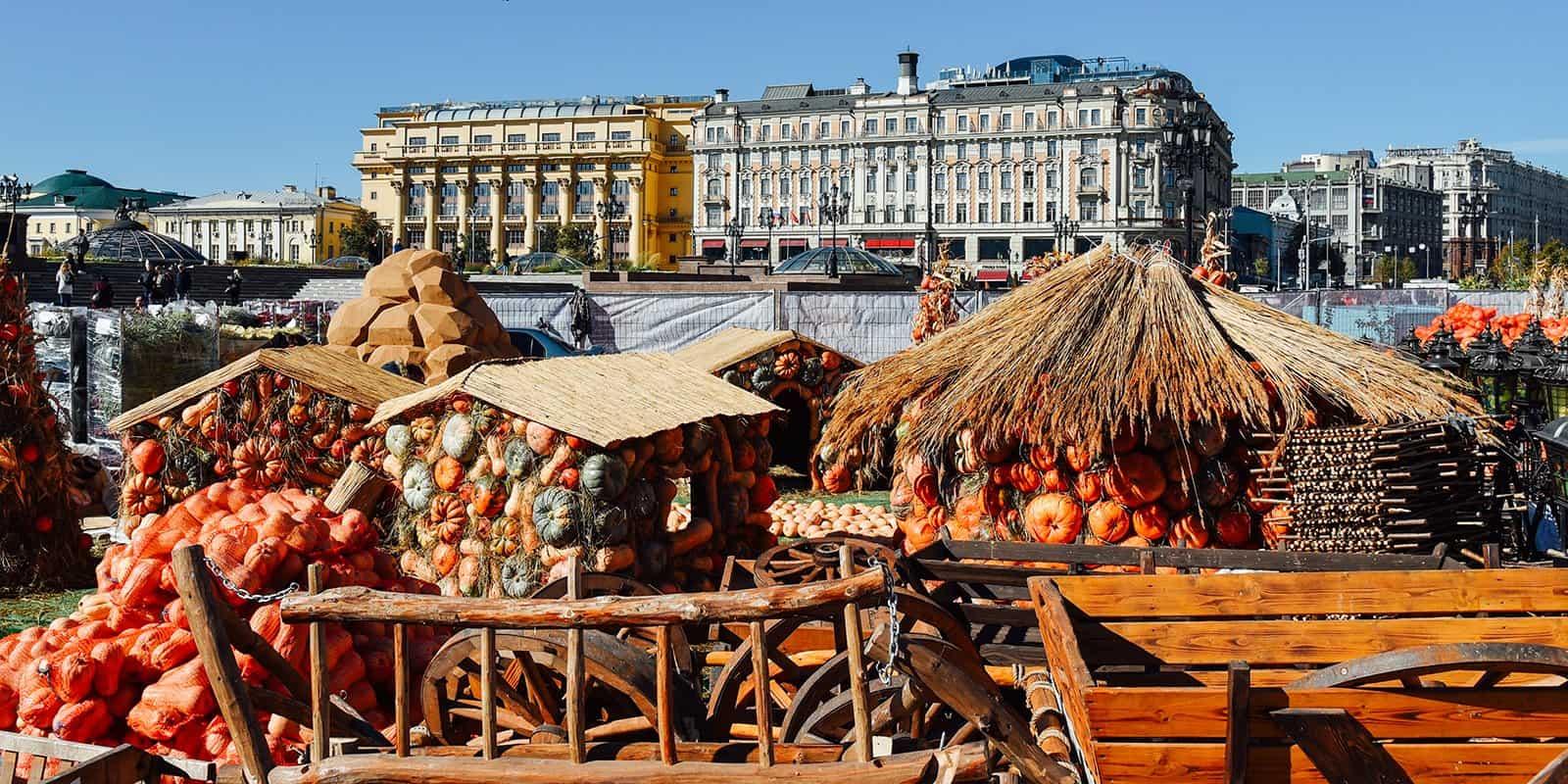 Lễ hội ẩm thực mùa thu vàng nước Nga
