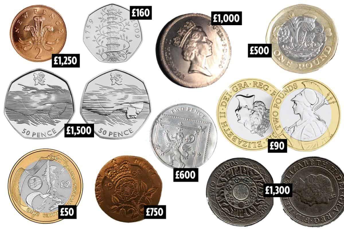 Tiền xu nước Anh