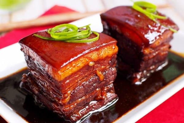 Món thịt kho Đông Pha đậm vị