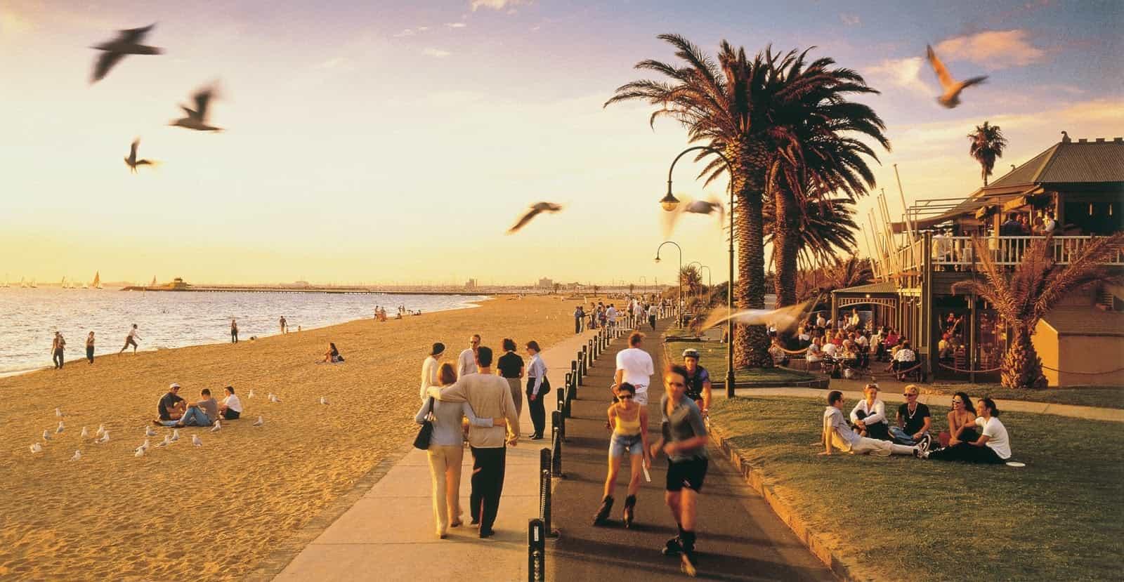 Du lịch Úc vào mùa hè đầy nắng