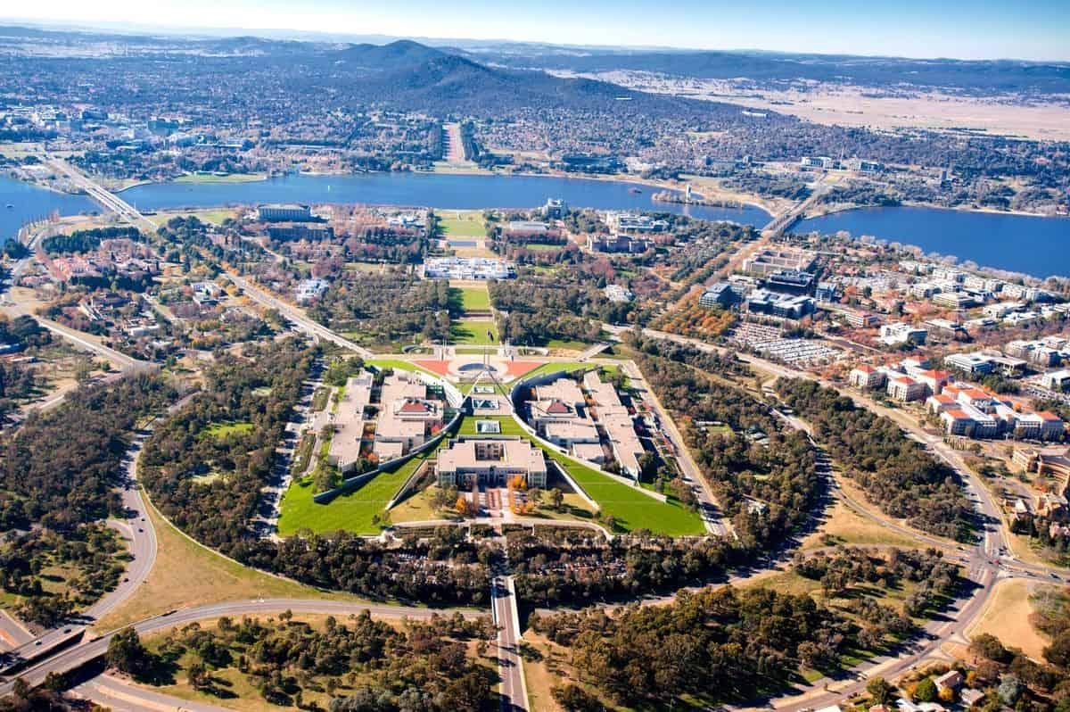 Toàn cảnh thành phố Canberra