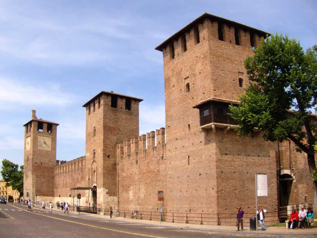 Lâu đài cổ Castelvecchio