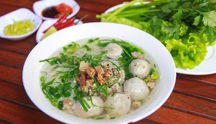 Quán hủ tiếu bò viên Phát Lợi ở Đà Nẵng