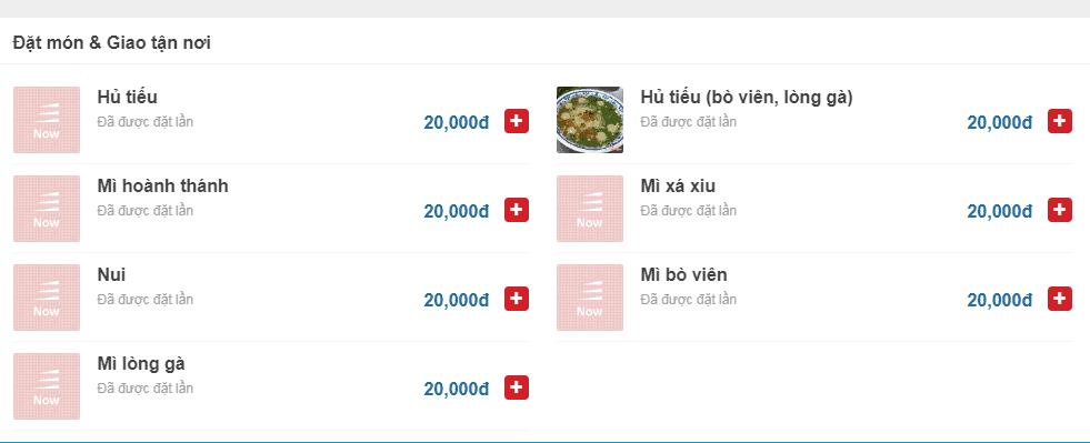 hủ tiếu ngon ở Đà Nẵng