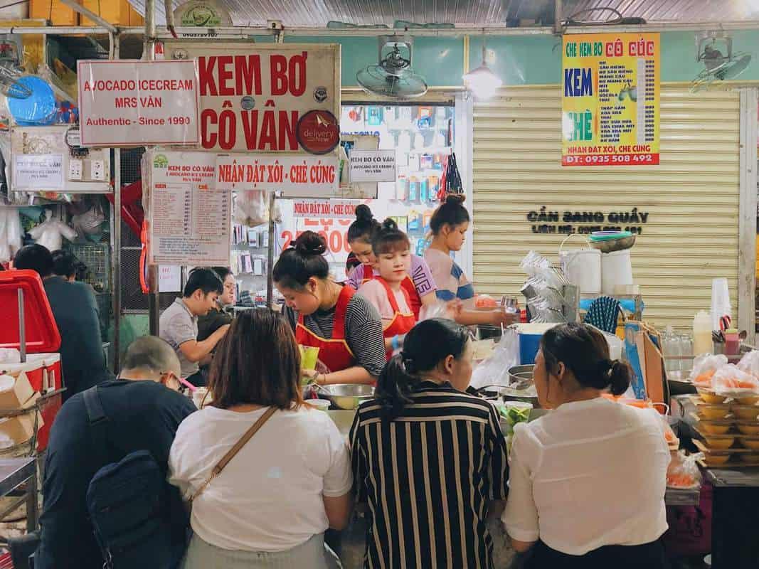 Kem bơ Đà Nẵng