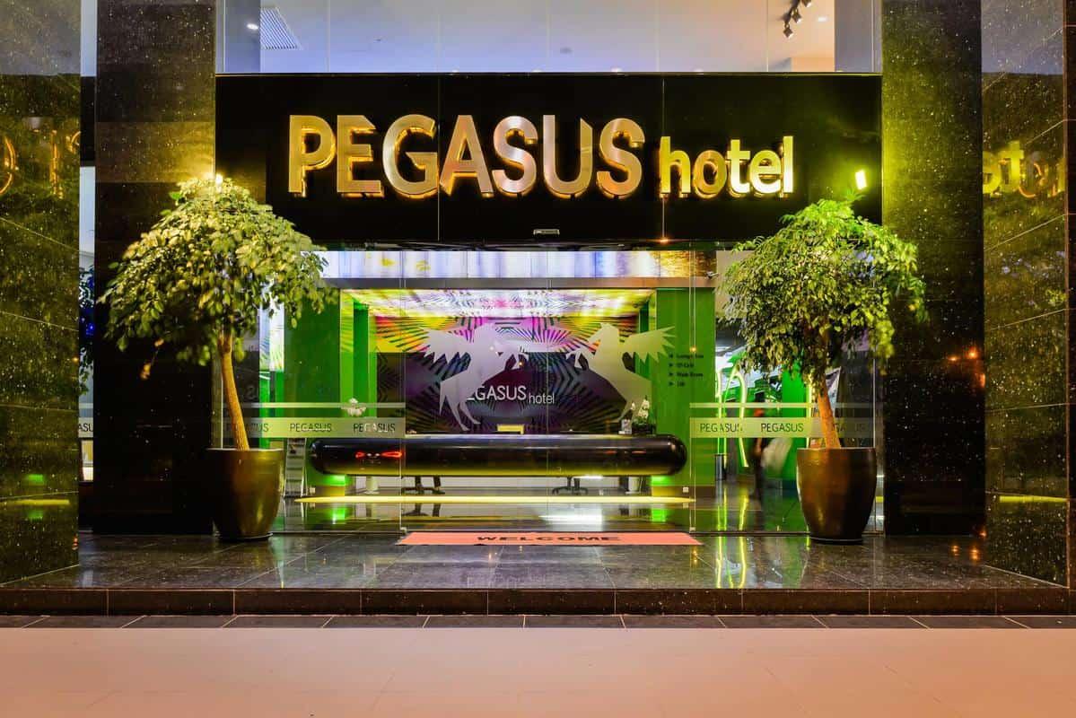 Bên ngoài Pegasus Hotel Shah Alam
