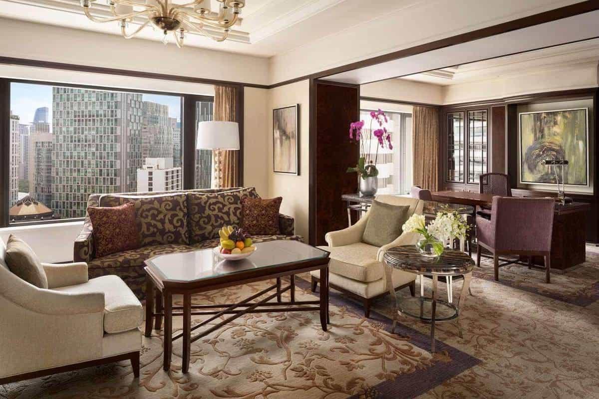 Phòng tại khách sạn Shangri-La Hotel Kuala Lumpur