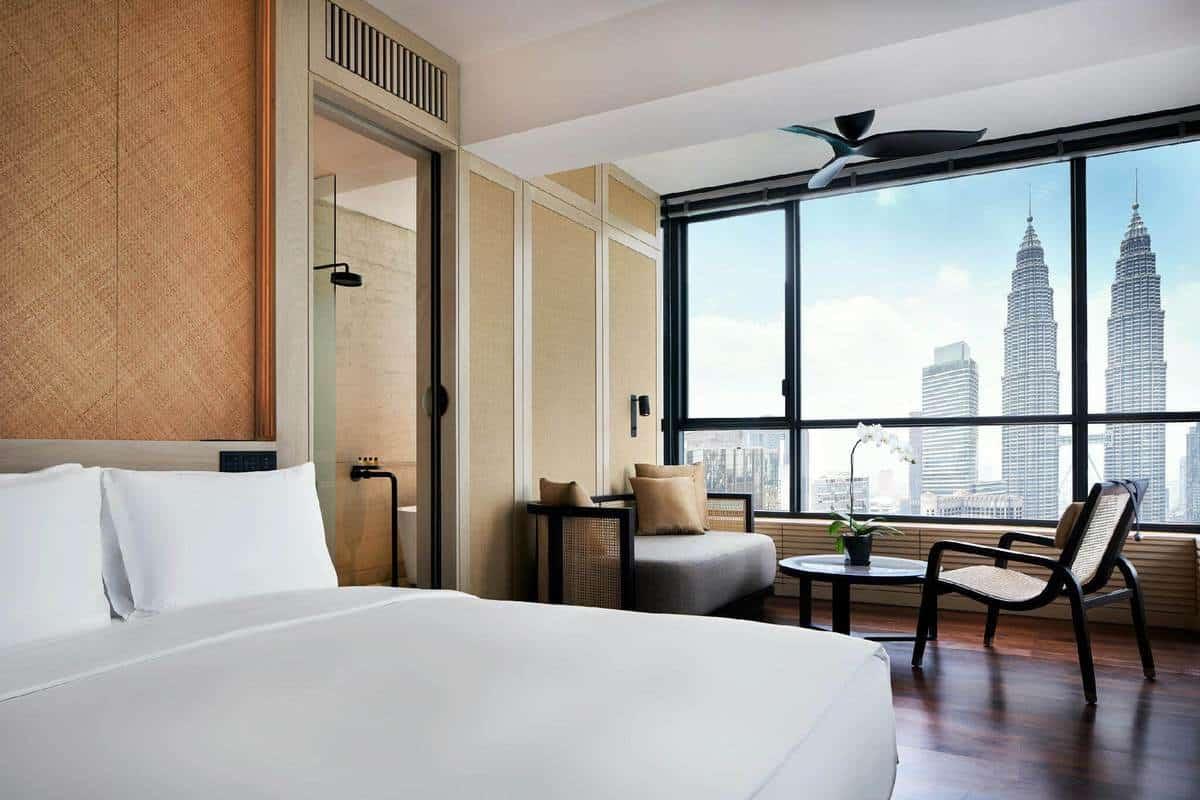 Phòng tại khách sạn The RuMa Hotel and Residences