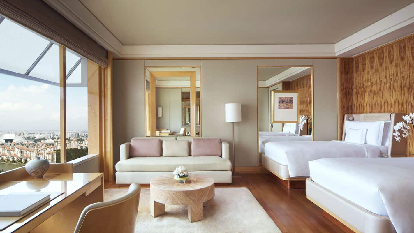 The Ritz-Carlton, Millenia Singapore khách sạn sang trọng