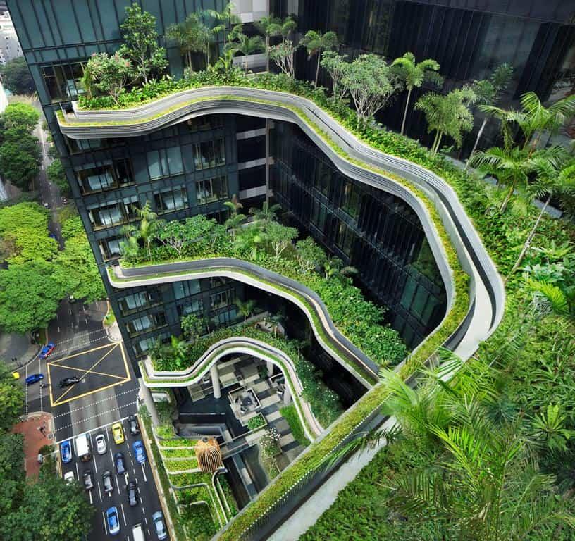khách sạn Parkroyal on Pickering Singapore