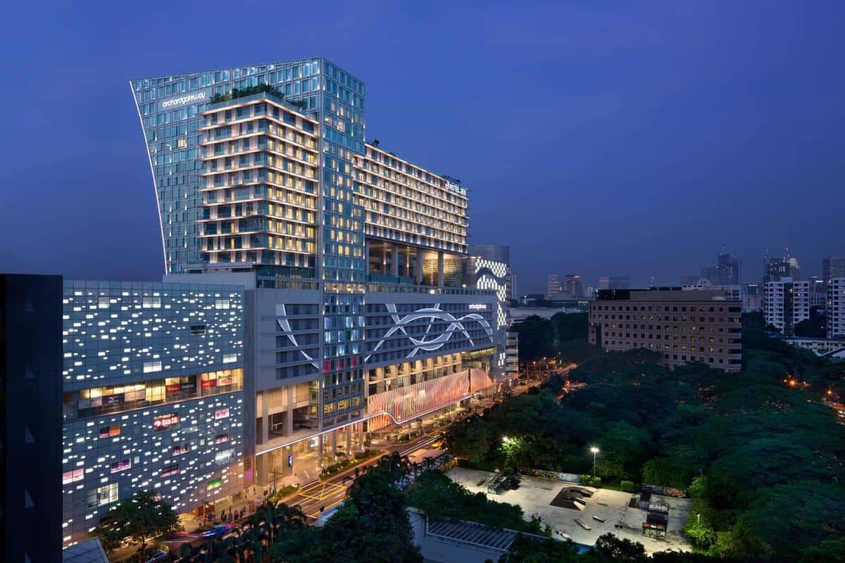 khách sạn singapore khu orchard