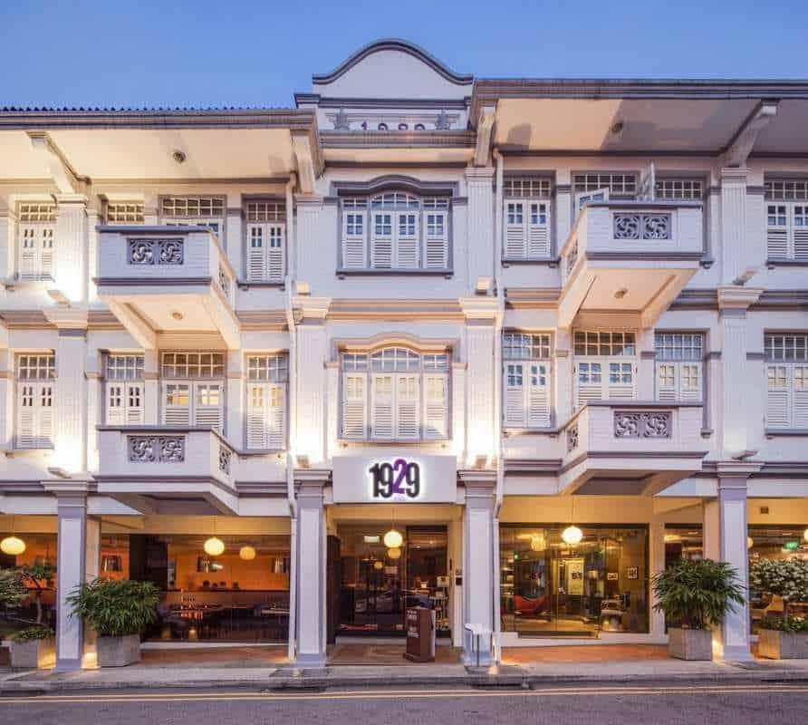 khách sạn ở singapore nên ở khu nào