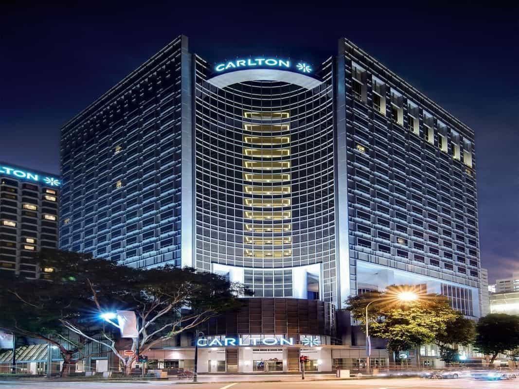 khách sạn sang trọng nhất singapore