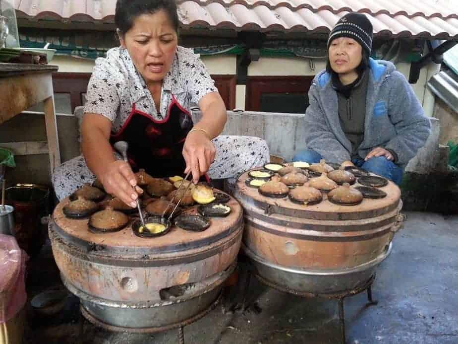 Bánh căn xíu mại cây bơ Đà Lạt