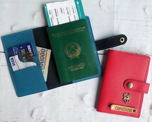 Bao đựng hộ chiếu du lịch