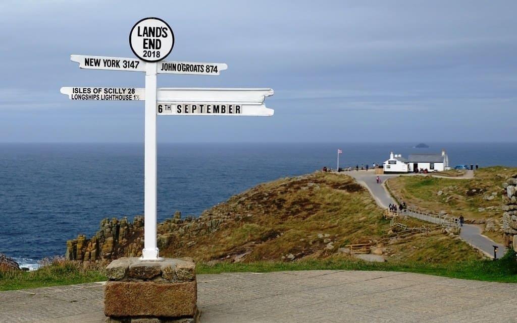 khung cảnh mũi đất cực Tây của nước Anh-LANDS END
