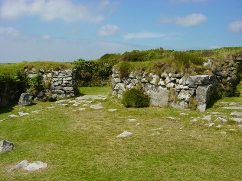 Làng cổ Chysauster tại Cornwall