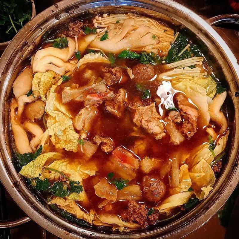 lẩu bò Nàng Hương ngon nhất ở Đà Lạt