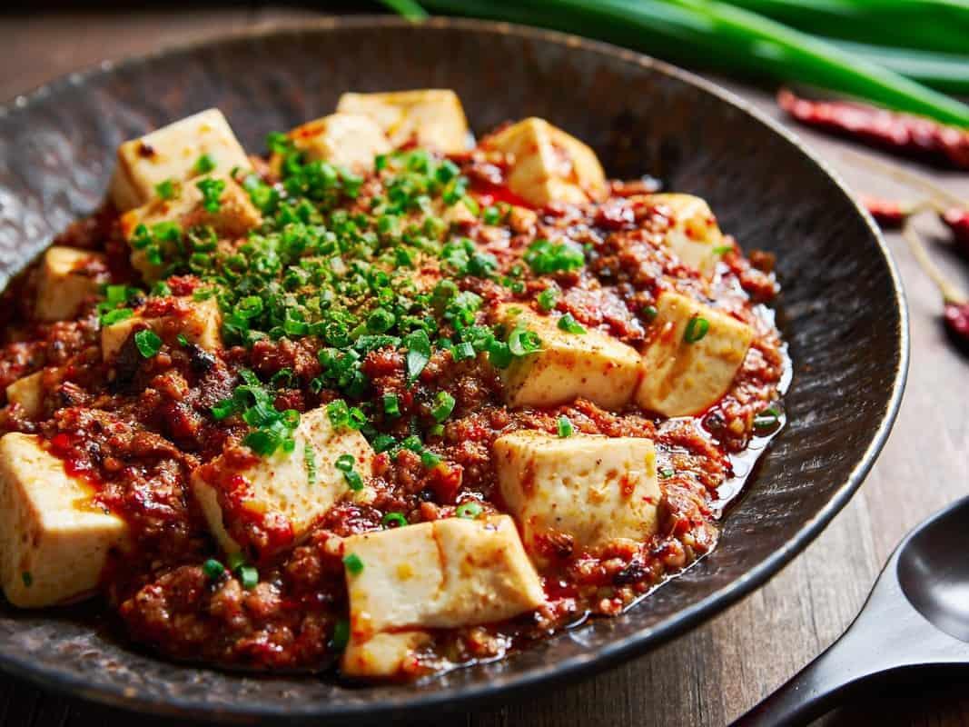 Món đậu sốt Tứ Xuyên nổi tiếng
