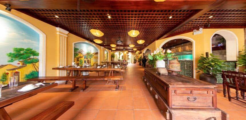 nhà hàng cho khách đoàn ở Đà Nẵng