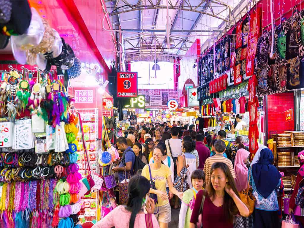 Khu mua sắm giá rẻ ở Singapore
