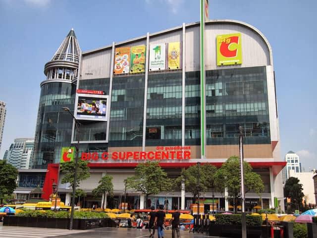 mua sắm ở bangkok