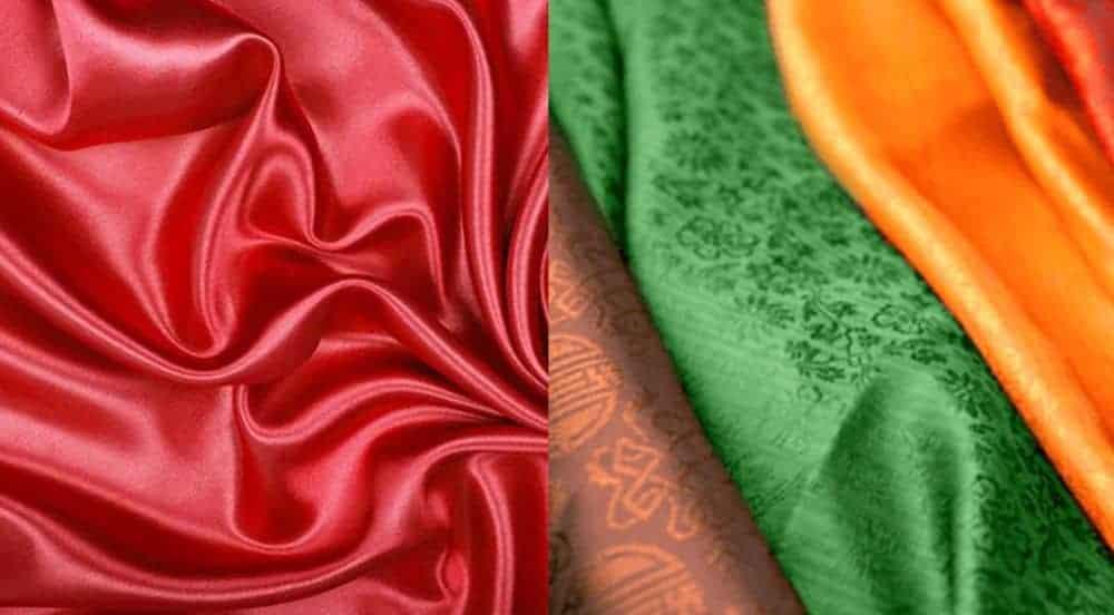 Vải, lụa tơ tằm Thái Lan được dệt thủ công