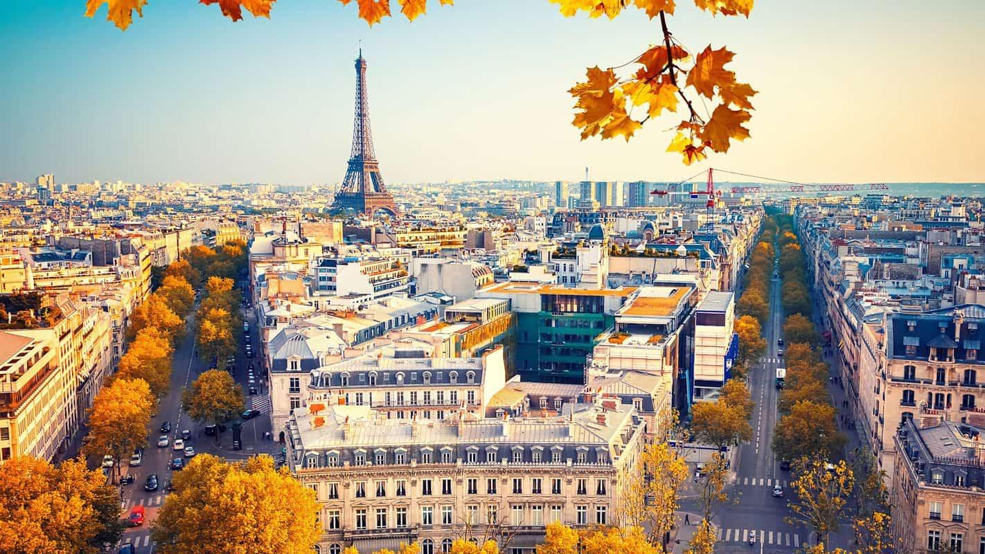 Mùa thu ở nước Pháp