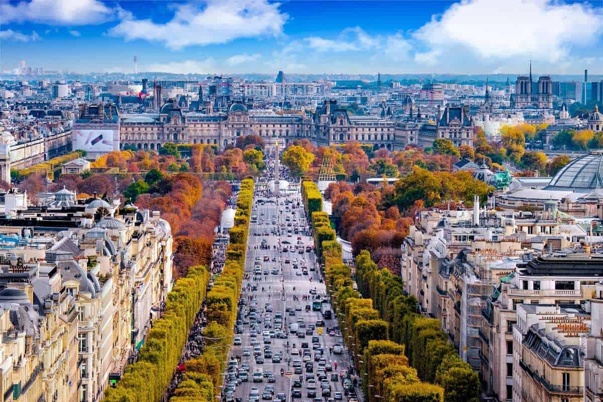 Du lịch mùa thu của nước Pháp
