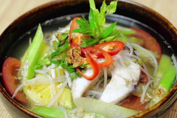 Canh chua Cá Bốp Phú Quốc
