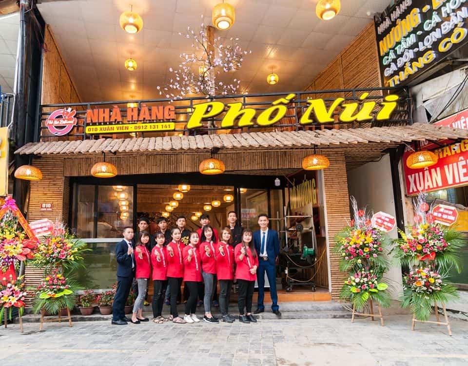 Review nhà hàng Phố núi ở Sapa