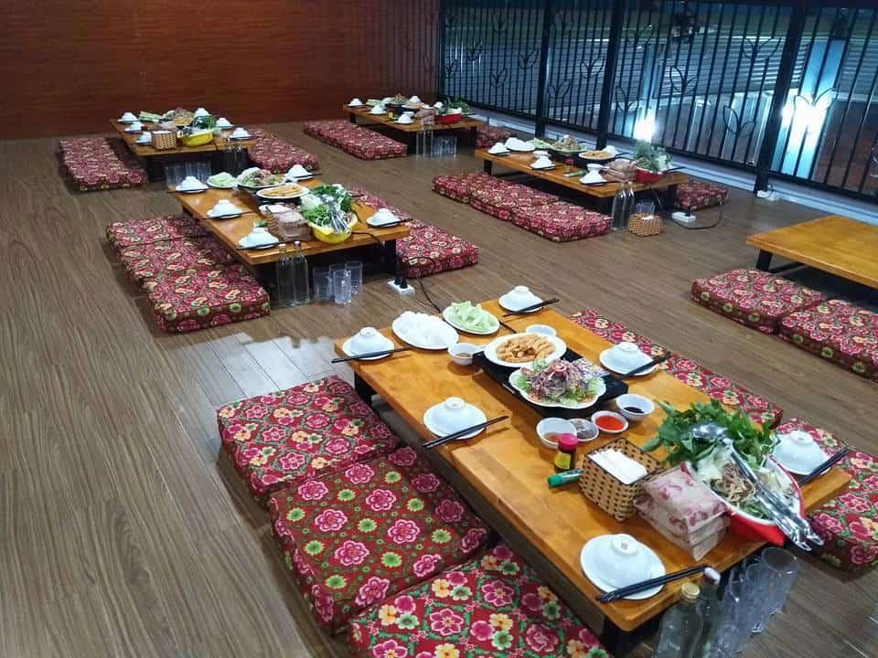 Không gian nhà hàng Gia Nguyễn