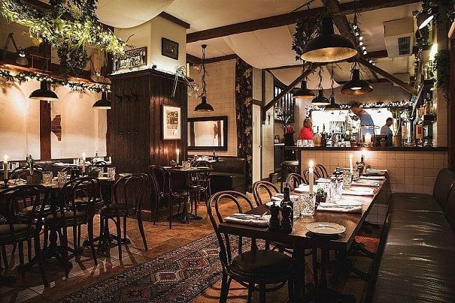 nhà hàng lãng mạn ở Đà Nẵng