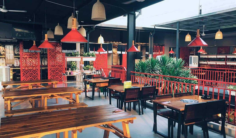 Quán ăn Dasushi BBQ & Beer có không gian Nhật đẹp ở Đà Nẵng