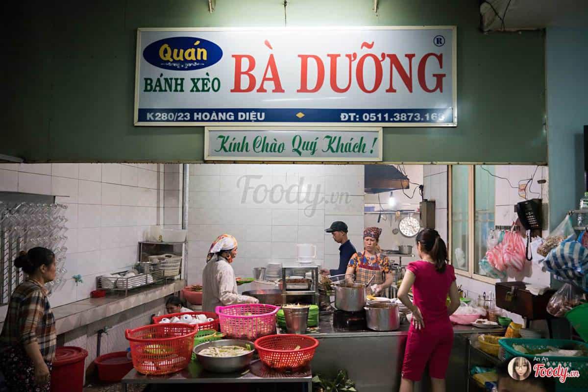quán ăn ngon đường hoàng diệu đà nẵng