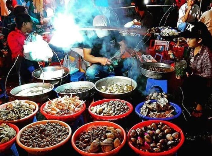 quán ăn chợ đêm Đà Lạt